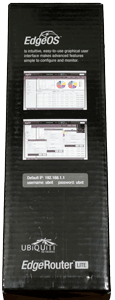 Ubiquiti EdgeRouter Lite Box (Left Side)